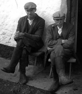Paddy Mullally and Pat Gammel