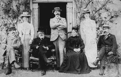 The Matthews Family. Owners of the Woollen Mills about 1900