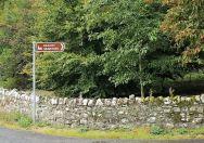 Killeagh Graveyard Sign