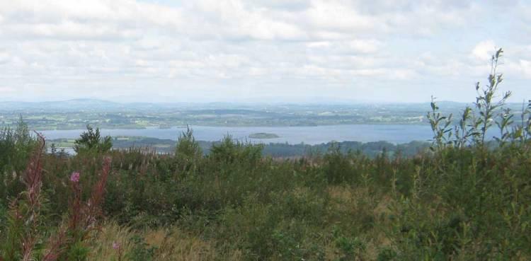 A view of Lough Sheelin