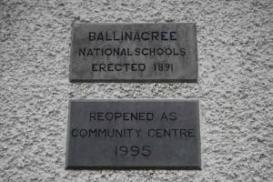 Ballinacree Community Plaque