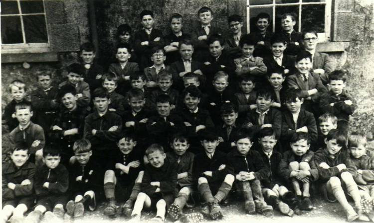 Ballinacree Boys School approx 1955