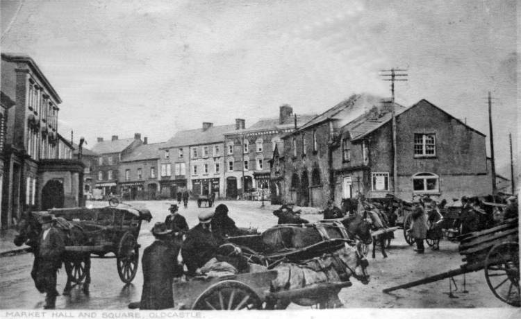 Fair Day, Market Hall and Square, Oldcastle