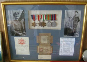 Mickie Tighe, World War II Medals