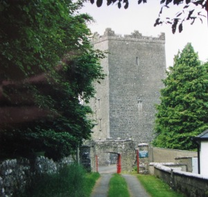 "Ross Castle built in 1532 by the ""Black Baron"""