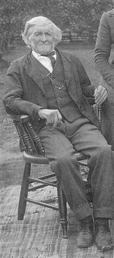 James Gibbons / Gibbens, taken in Acton, 1900